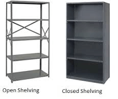 Industrial Steel Shelving